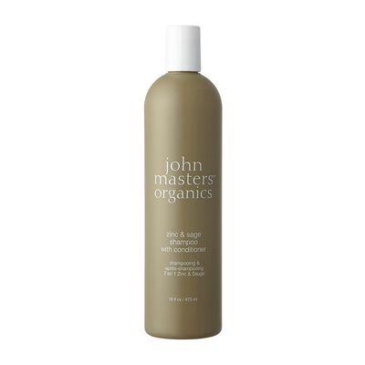 JOHN MASTERS ORGANICS(ジョン マスター オーガニック)Z&Sコンディショニングシャンプー 473ml