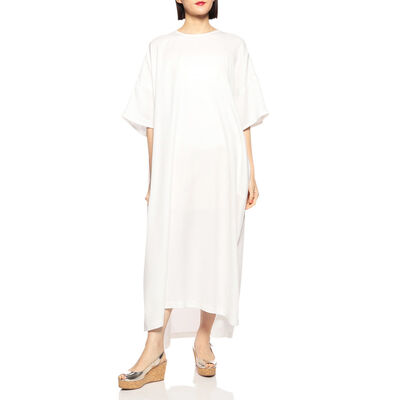 SHAINA MOTE(シャイナ モート)ハーフスリーブロングドレス