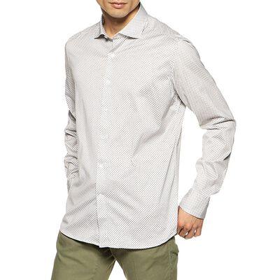 SONRISA(ソンリーサ)ドットプリントジャージーシャツ