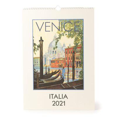 "CAVALLINI(カヴァリーニ)2021年壁掛けカレンダー ""ITALIA"""