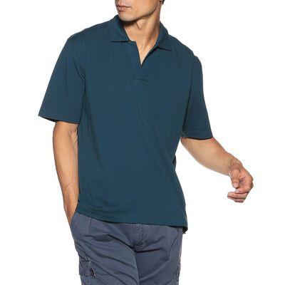 BARNEYS NEW YORK(バーニーズ ニューヨーク)スキッパーネックポロシャツ