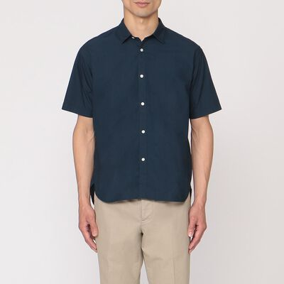 BARNEYS NEW YORK(バーニーズ ニューヨーク)半袖タイプライターシャツ
