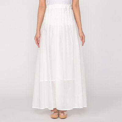 ELIN(エリン)バックリボンロングプリーツスカート