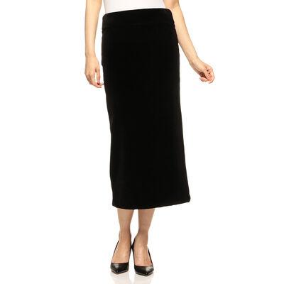 MADISONBLUE(マディソンブルー)ベロアタイトスカート