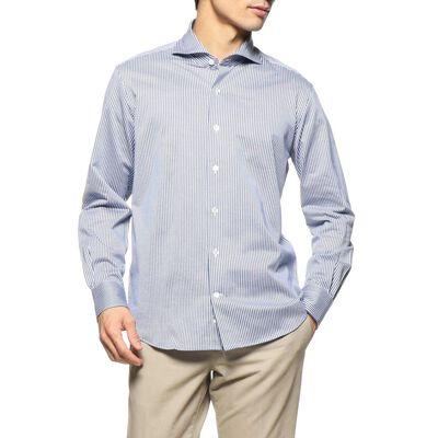 BARNEYS NEW YORK(バーニーズ ニューヨーク)ジャージーストライプシャツ