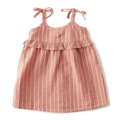 TOCOTO VINTAGE(トコトヴィンテージ)ストライプ柄ガールズドレス