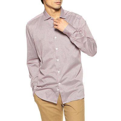 SONRISA(ソンリーサ)小紋柄プリントジャージーシャツ