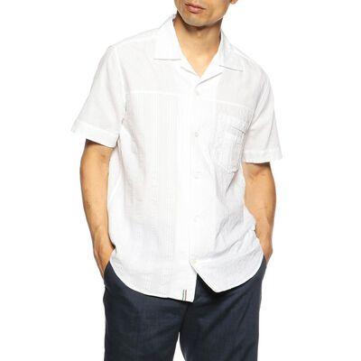 TINTORIA MATTEIジャカードオープンカラーシャツ