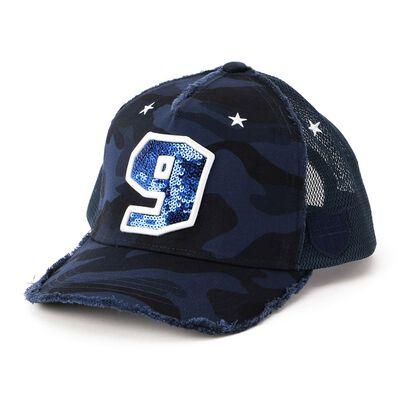 """YOSHINORI KOTAKE DESIGN(ヨシノリ コタケ デザイン)ベースボールキャップ """"9"""""""
