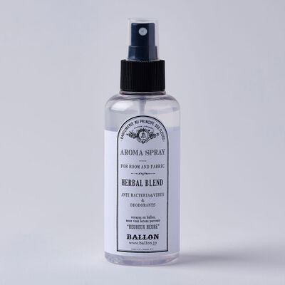 BALLON(バロン)ルーム&ファブリック用アロマスプレー HERBAL BLEND 150ml