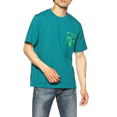 WHITE MOUNTAINEERING(ホワイトマウンテニアリング)タイダイ切り替えTシャツ