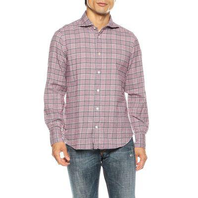 FINAMORE(フィナモレ)フランネルチェックシャツ