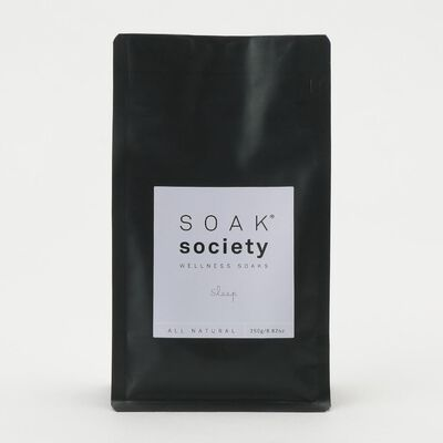 "SOAK SOCIETY(ソークソサエティ)バスソーク レギュラーサイズ ""スリープ"" 250g"