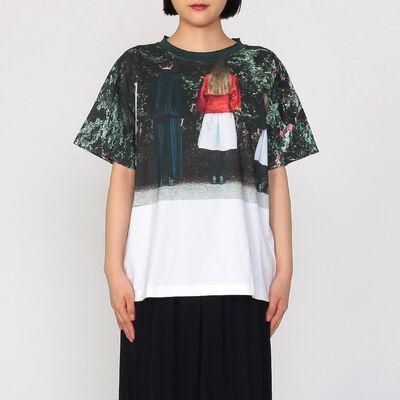 HARIKAE(ハリカエ)ジャージープリントTシャツ