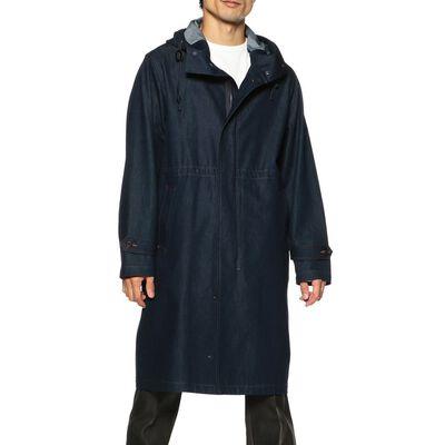 FOLLOW(フォロー)インディゴデニムフーデッドコート