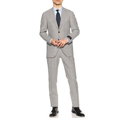 BARNEYS NEW YORK(バーニーズ ニューヨーク)グレンチェック柄スーツ
