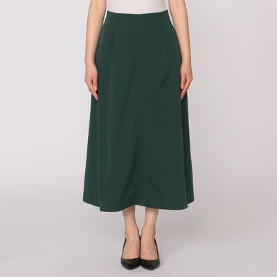 BARNEYS NEW YORK(バーニーズ ニューヨーク)ウォッシャブルストレッチフレアロングスカート