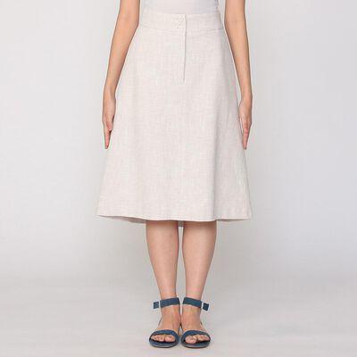 BARNEYS NEW YORK(バーニーズ ニューヨーク)ダブルボタンAラインミディスカート
