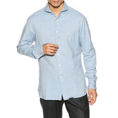 CATARISANO(カタリザーノ)ヘリンボーン柄メルトンシャツ