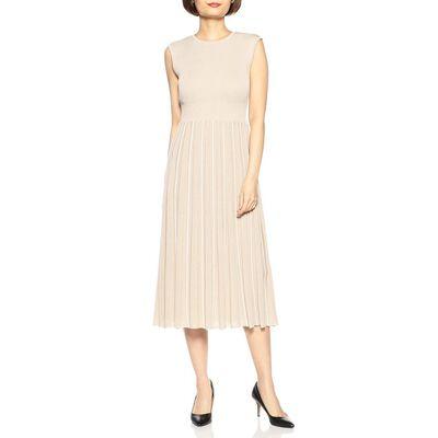BARNEYS NEW YORK(バーニーズ ニューヨーク)ストライプ柄ニットドレス