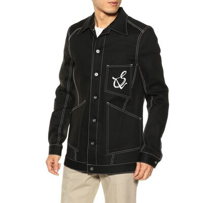 SULVAM(サルバム)ブラックデニムジャケット