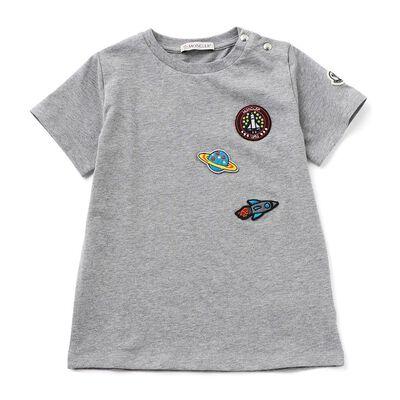 MONCLER(モンクレール)ワッペン付きTシャツ