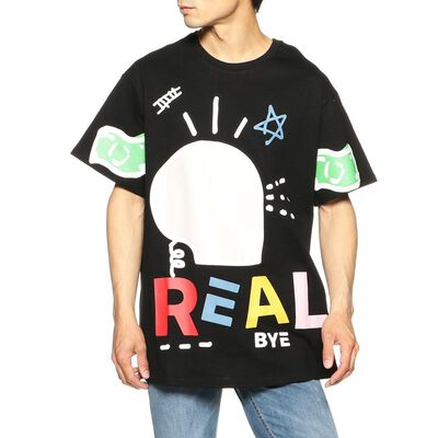REAL BUY(リアルバイ)プリントTシャツ