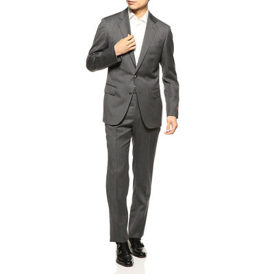 BARNEYS NEW YORK(バーニーズ ニューヨーク)ヘリンボーン柄スーツ