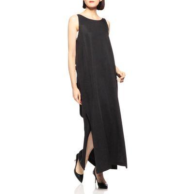 SHAINA MOTE(シャイナ モート)バックタイロングドレス