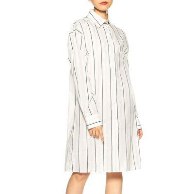 MAISON MARGIELA(メゾン マルジェラ)ストライプシャツドレス