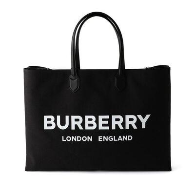 BURBERRY(バーバリー)ロゴトートバッグ
