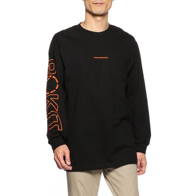 ROKIT(ロキット)ロングスリーブプリントTシャツ