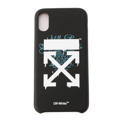 OFF-WHITE c/o VIRGIL ABLOH(オフ-ホワイト c/o ヴァージル アブロー)スマートフォンケース (iPhone XS対応)