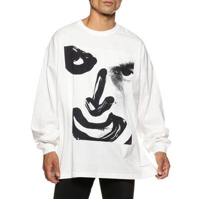 KIDILL(キディール)プリントロングスリーブTシャツ