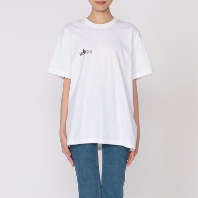 """CCRT(シーシーアールティー)プリントTシャツ """"5 BALANCE"""""""