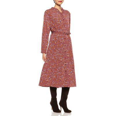 BARNEYS NEW YORK(バーニーズ ニューヨーク)ウォッシャブルフラワープリントスキッパーシャツドレス