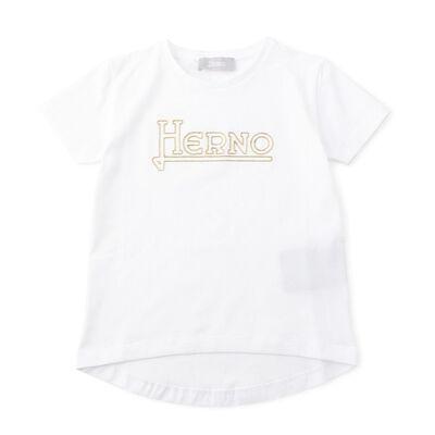HERNO(ヘルノ)ガールズロゴTシャツ