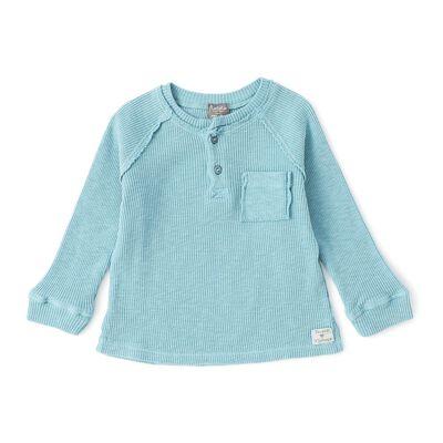 TOCOTO VINTAGE(トコトヴィンテージ)ヘンリーネックTシャツ