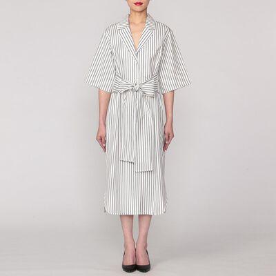 YUNE HO(ユーン ホー)リボンシャツドレス