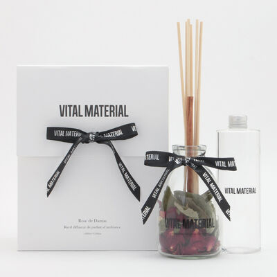"VITAL MATERIAL(ヴァイタル マテリアル)リードディフューザー ""ダマスクローズ"" 400ml"