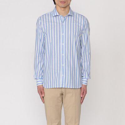 ORIAN(オリアン)ストライプシャツ
