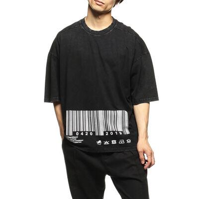 UGC(ユージーシー)ウォッシュドプリントTシャツ