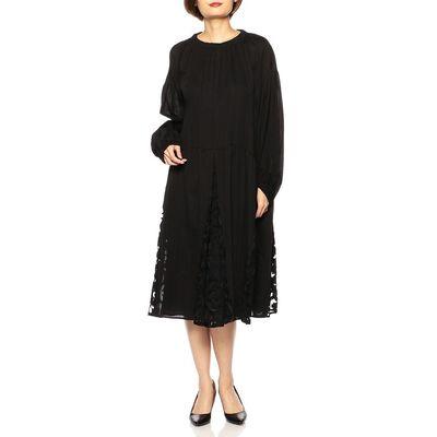MULLER OF YOSHIOKUBO(ミュラー オブ  ヨシオクボ)レースロングスリーブドレス
