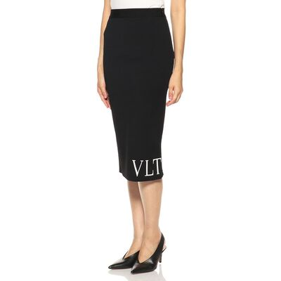 VALENTINO(ヴァレンティノ)ロゴタイトスカート
