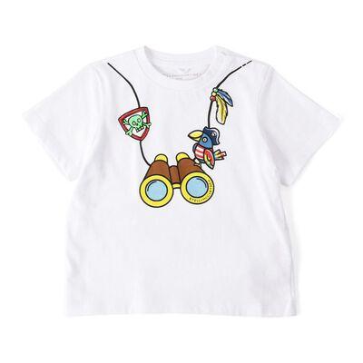 STELLA McCARTNEY(ステラ マッカートニー)ボーイズプリントTシャツ