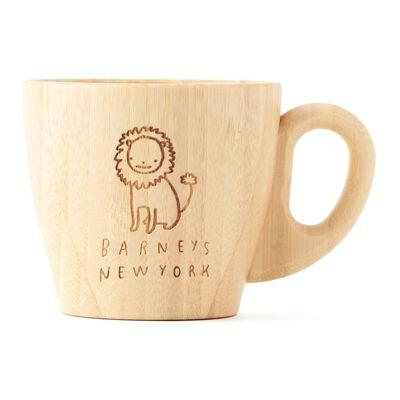 BARNEYS NEW YORK(バーニーズ ニューヨーク)【オーダー品/名入れ】バンブーマグカップ