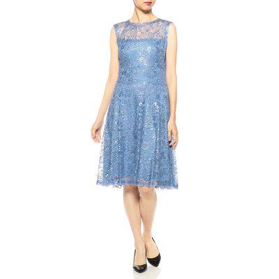 TADASHI SHOJI(タダシ ショージ)フラワーレースドレス