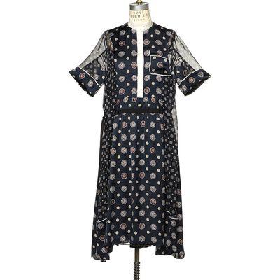SACAI(サカイ)マオカラードレス