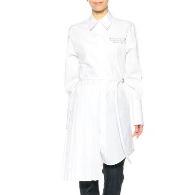OFF-WHITE c/o VIRGIL ABLOH(オフ-ホワイト c/o ヴァージル アブロー)ロングスリーブシャツドレス