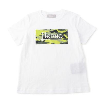 HERNO(ヘルノ)ボーイズプリントTシャツ